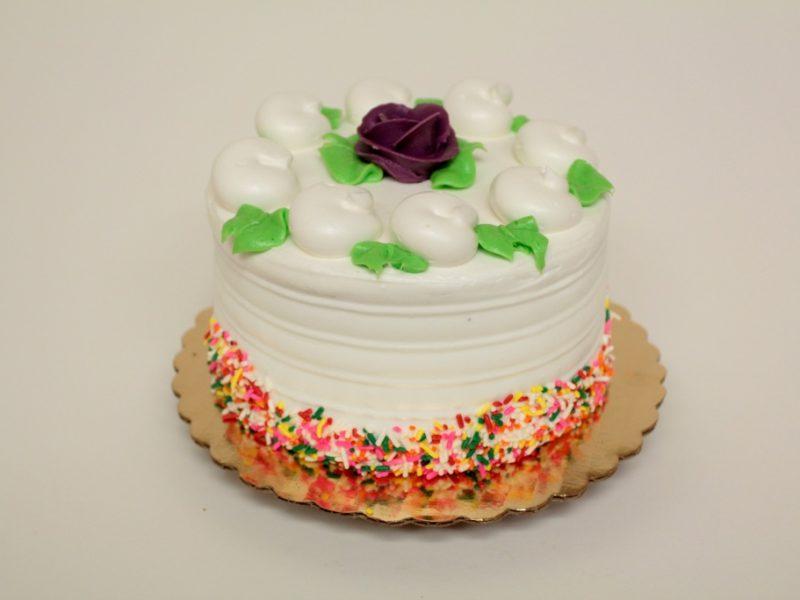 All White Layer Cake