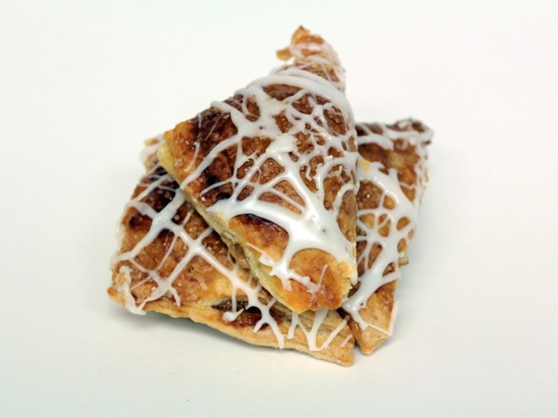 Mini Frosted Apple Turnovers