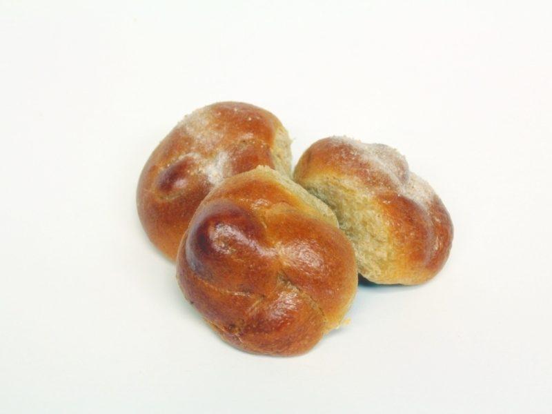Mini Whole Wheat Challah Rolls