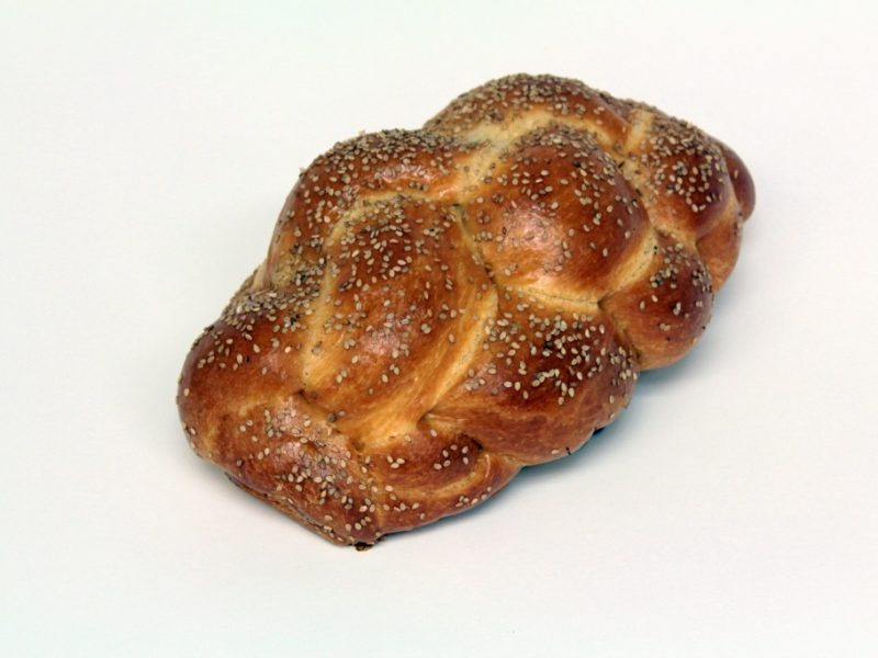 Sesame Seeded Challah