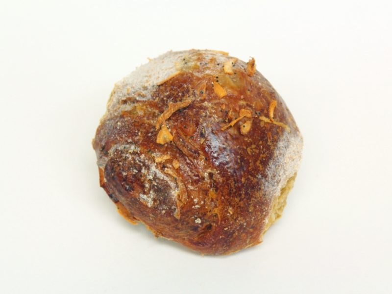 Whole Wheat Sweet Onion Challah Rolls