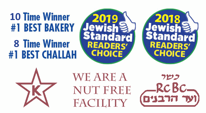Zadies Bakery Number 1 Best Kosher Bakery in New Jersey Jewish Standard Readers Choice